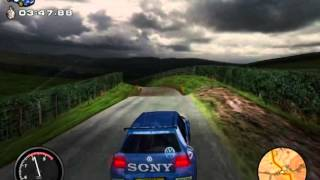 Rally Championship 2000 (Mobil 1 Rally Championship) Volkswagen golf gti mkIV - PC Gameplay (HD)