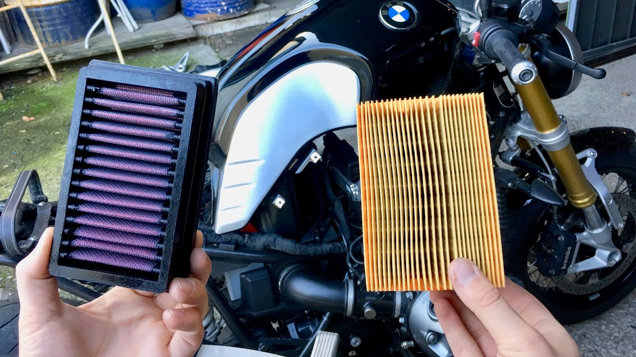 how to replace air filter 9 easy steps bmw r nine. Black Bedroom Furniture Sets. Home Design Ideas