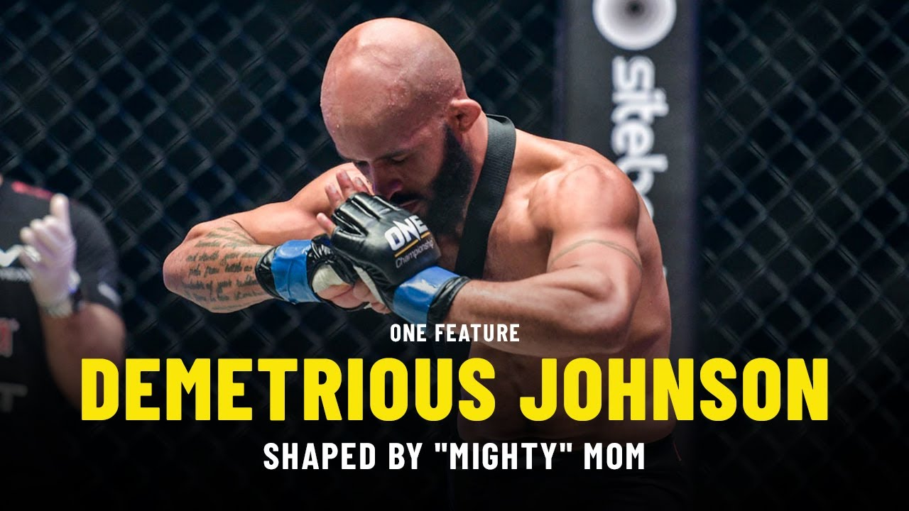 "Demetrious Johnson Shaped By ""Mighty"" Mom 