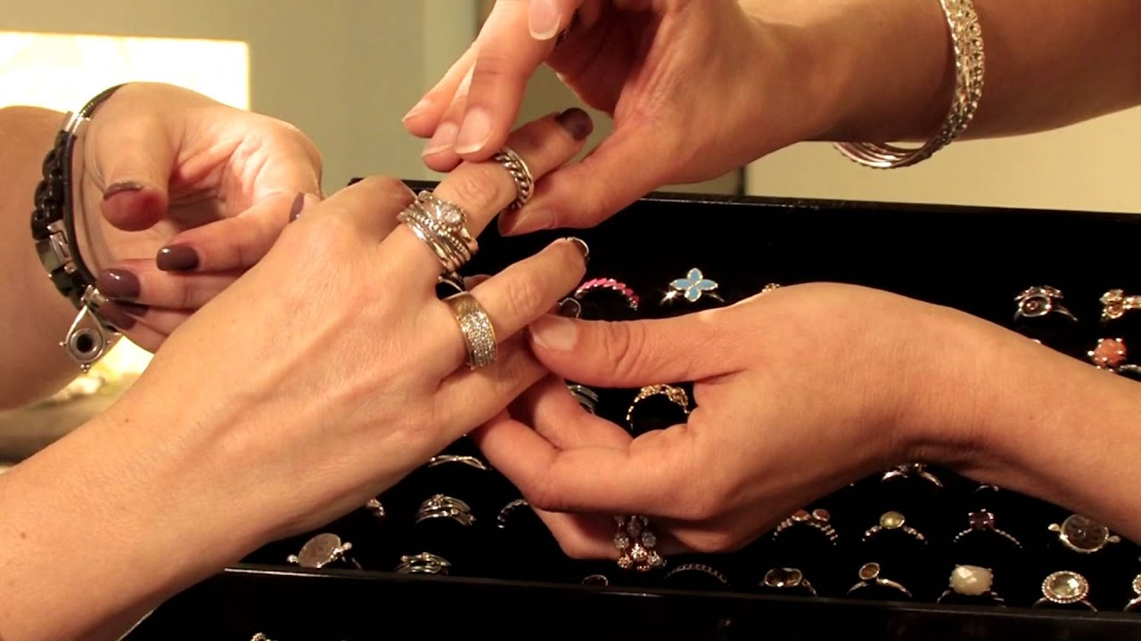Pandora Jewelery How To Create A Unique Ring Stack Youtube