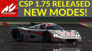 NEW CSP RAIN Edition 1.75 Preview 1 With NEW Modes And Upgrades - Assetto Corsa