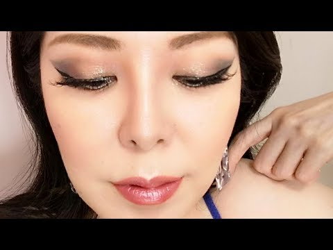 So cool!Wing shadow Make-Up★クールなウイングアイシャドウ【アラフィフ・Forties】 thumbnail