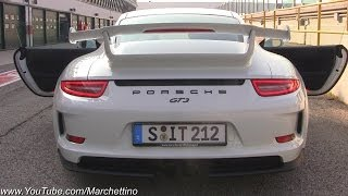Porsche 991 GT3 SOUND  - Start, Rev and Accelerations!