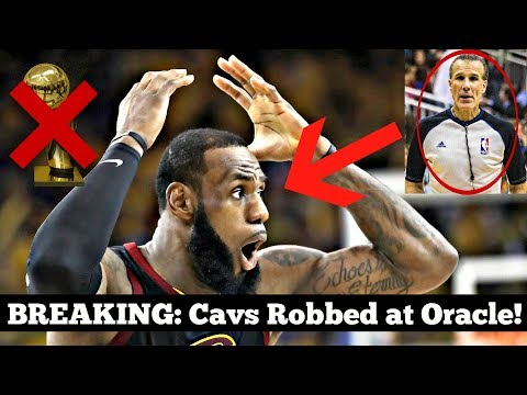 The WORST OFFICIATING in NBA History