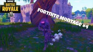 Fortnite Clip Montage #4 (Fortnite Battle Royale)