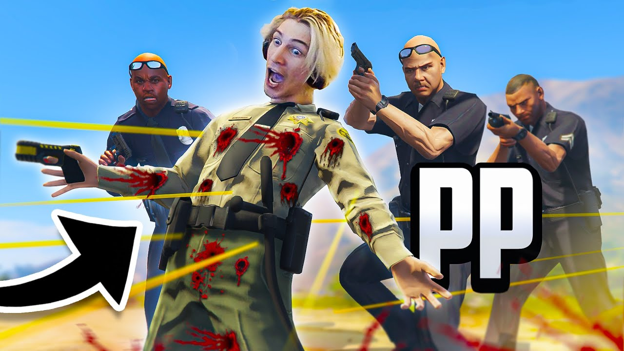 USED AS A HUMAN MEAT SHIELD | xQc GTA Roleplay
