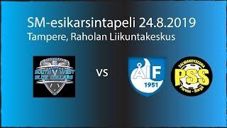 BlueCollars - ÅIF/PSS B-pojat (SM-Esikarsintaturnauspeli 24.8.2019)