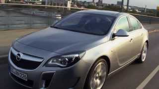 Opel Insignia OPC Facelift in Silver - Driving Review