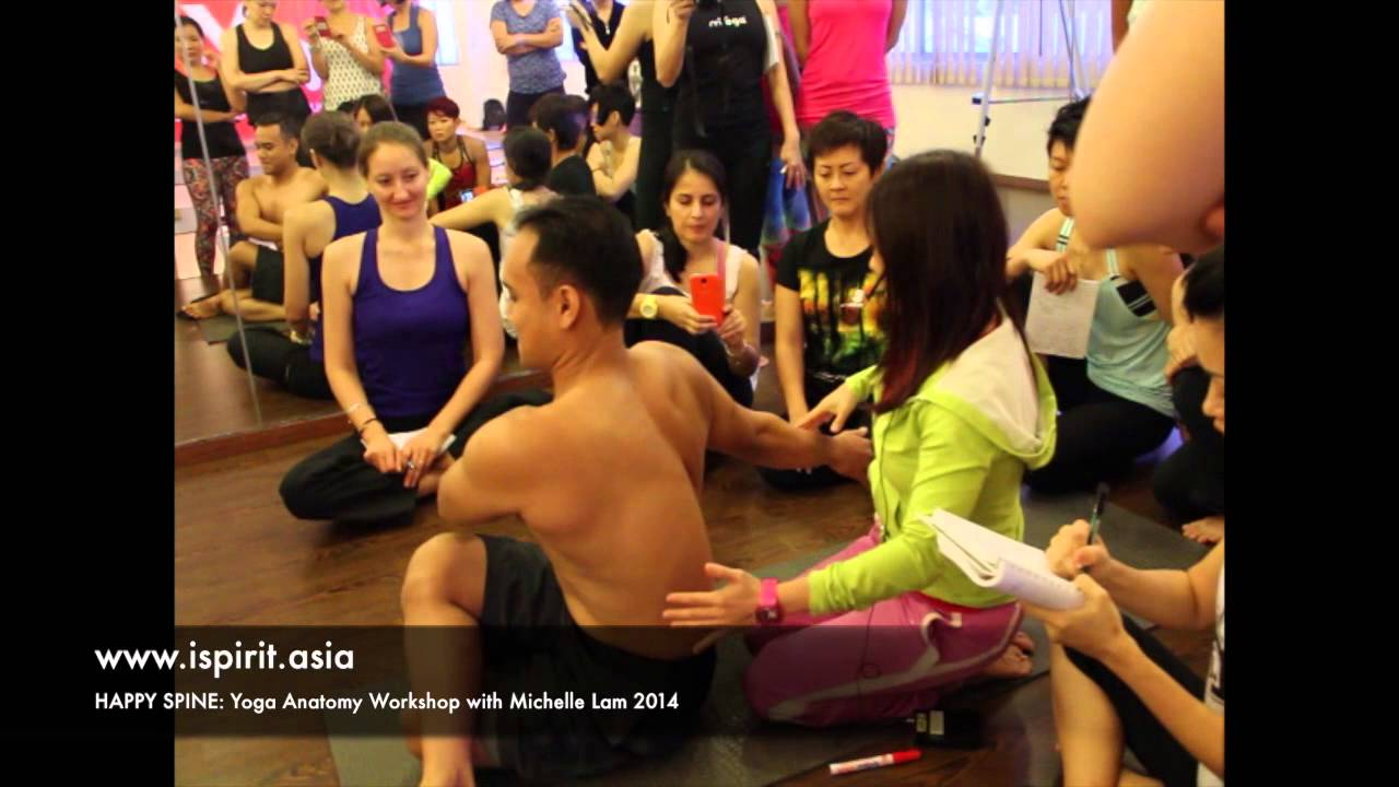 Happy Spine Yoga Anatomy Workshop in Malaysia - YouTube