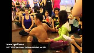 Repeat youtube video Event: Happy Spine Yoga Anatomy Workshop with Michelle Lam 2014