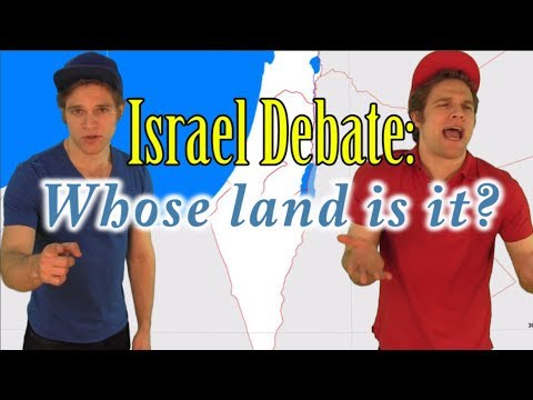 Israel Debate - Whose Land Is It?  Ancient History Explained