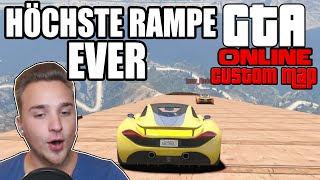 DIE HÖCHSTE RAMPE EVER ☆ GTA V Custom Map | GTA 5 Online | LPmitKev
