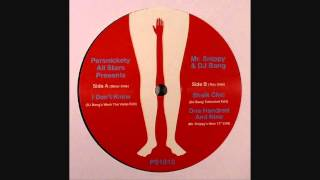 Persnickety All Stars - Sheik Chic (DJ Bang Extended Edit)