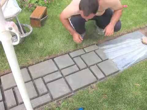 كيف تصنع ممر رائع في حديقة منزلك Youtube