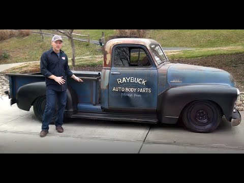 Lowering A 1947 1953 Chevy Truck Without Using Air Bags Or Lowering Blocks And Still Have A Bed Youtube