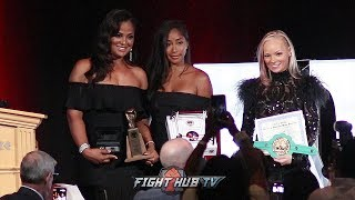 LAILA ALI ON TELLING HER FATHER SHE WANTED TO BOX AS SHE LOOKS BACK ON CAREER IN 2018 NVBHOF SPEECH