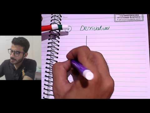 Online Calculus Tutor, Calculus lesson 1, Pakistani or Indian Calculus tutor in (Hindi or Urdu)