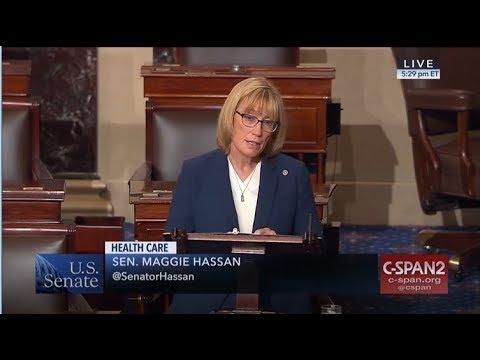Senator Hassan speaks on Senate Floor on Graham-Cassidy Trumpcare Bill