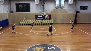 Offence motion offence dribble entry, shallow cut