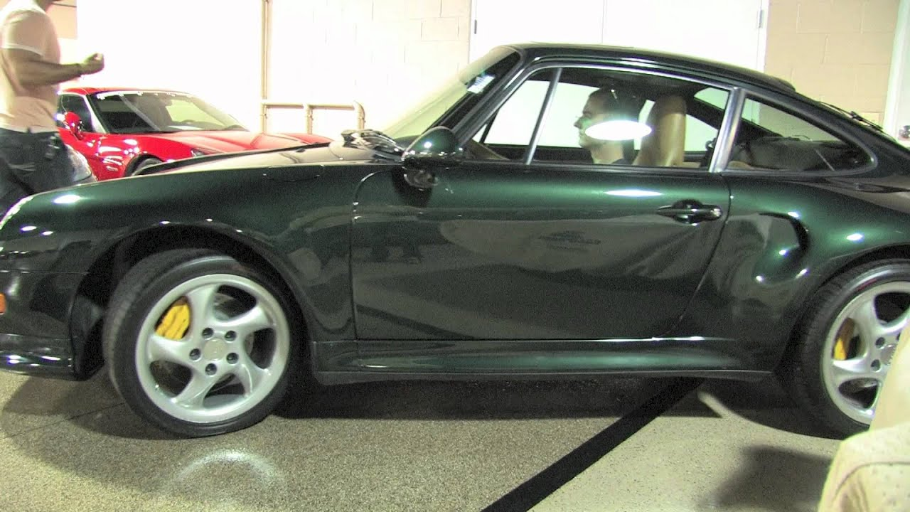 Porsche 911 Turbo in Reverse Chicago Motor Cars Video Test Drive