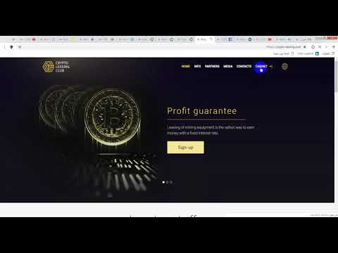 welcom to crypto-leasing earn 5%-65% par days+payment prove