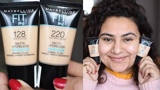 Maybelline FITME foundation HINDI review