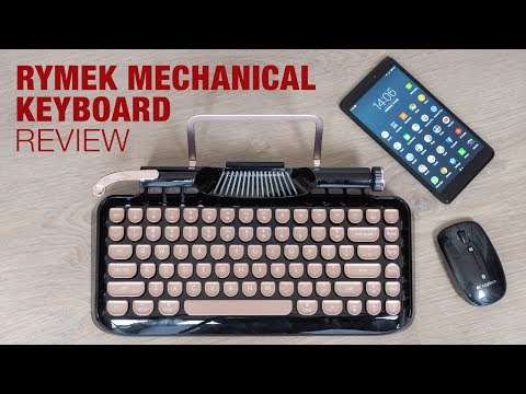 Bluetooth & Retro, The Rymek Mechanical Keyboard (review)