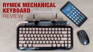Bluetooth & Retro, the Rymek Mechanical Keyboard (review)