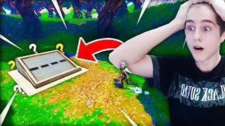 ENTERING THE SECRET BUNKER OF FORTNITE! * Don't try that *