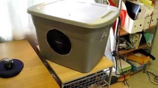 Homemade Evaporative Cooler (Swamp Cooler)