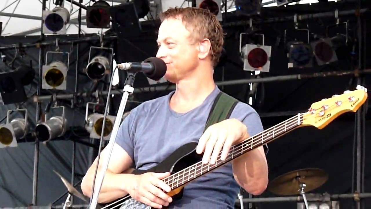 "Gary sinise & The Lt.Dan Band in Okinawa ""Purple Haze ..."