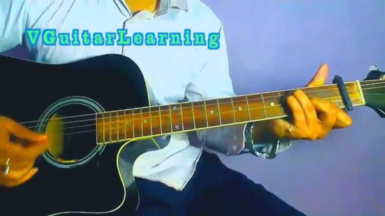 TERI GALIYAN GUITAR TUTORIAL - Ek Villain Song : Ankit Tiwari : Shraddha Kapoor Guitar Lesson ...