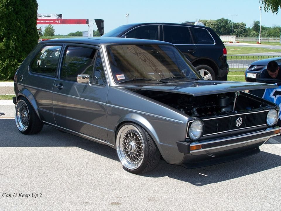 vw golf mk1 1 8 16v kr with carbs and bbs rs 16a by. Black Bedroom Furniture Sets. Home Design Ideas