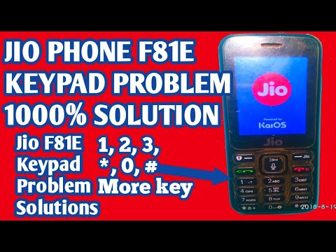 Lyf F81e Keypad Ways 1 2 3and 8 Repair 100% Solution - YouTube