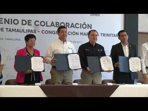 Gobierno del Estado y Organización Civil firman convenio para combatir rezago social