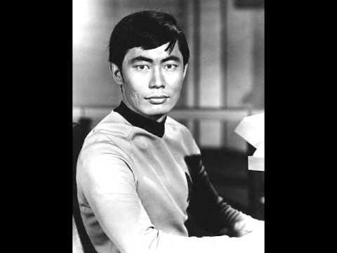 Star Trek's Sulu sings A Christmas Song - YouTube