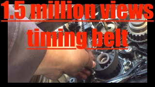 How to replace timing belt '97-'02 Honda Accord √