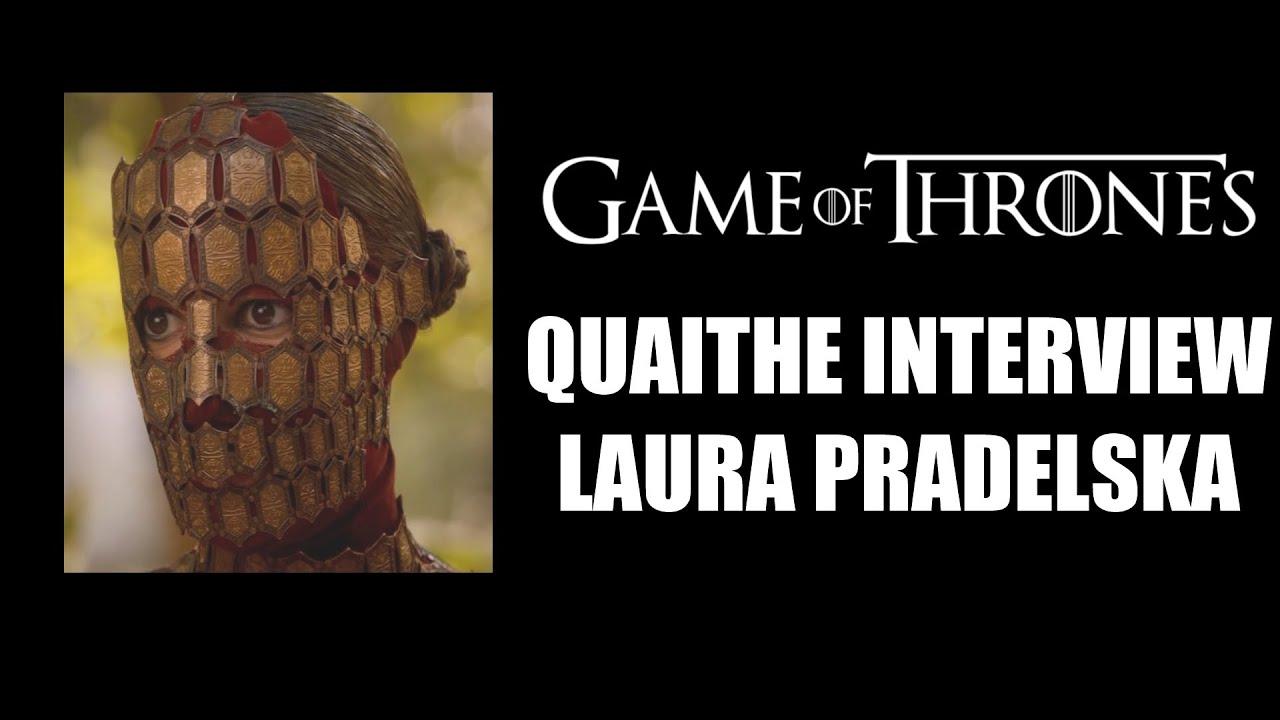 Game of Thrones Quaithe Interview - Laura Pradelska - YouTube Quaithe Game Of Thrones