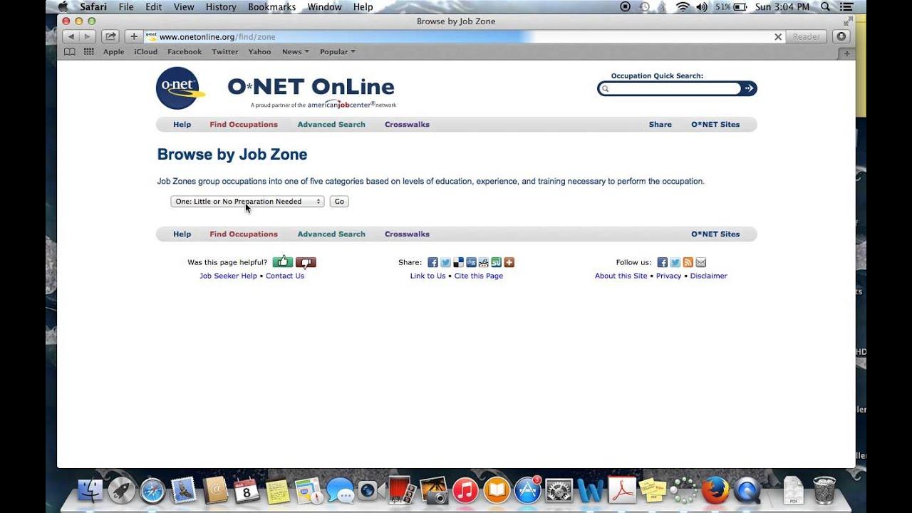 ONET OnLine  Onet Online Resume