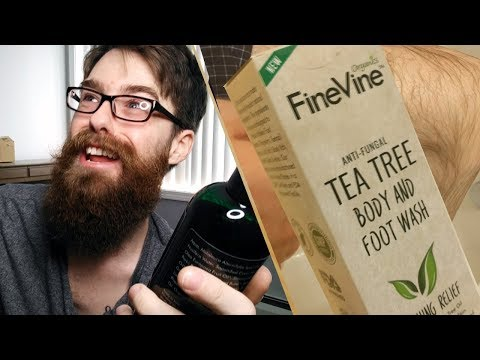 20% OFF Best Vegan Tea Tree Body & Foot Anti-Fungal Wash?! Review : FineVine Organics