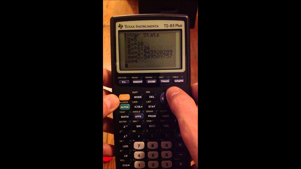 IB Math HL - TI 83/84 Q1 - Graphing Calculator Exercise Worksheet ...