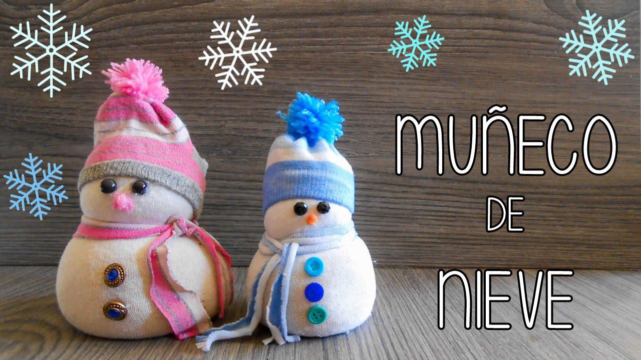 aprende a hacer un mu eco de nieve youtube On como hacer un muneco de nieve con calcetines