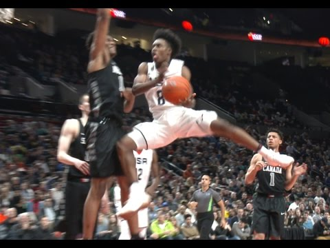 31d073111 Collin Sexton Shows Out In Nike Hoop Summit   McDonald s All American Games