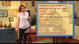 English Way - DVD 07 - Lesson 03 - Public transport
