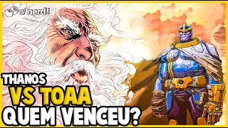 THANOS VS THE ONE ABOVE ALL: VEJA QUEM VENCEU