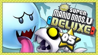 NEW SUPER MARIO BROS U DELUXE #5 - UNE ÉPAVE HANTÉE PLEINE DE BOOS !