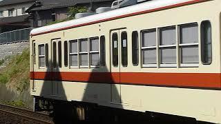 [警笛あり]関東鉄道常総線 キハ0形007編成 取手駅付近通過