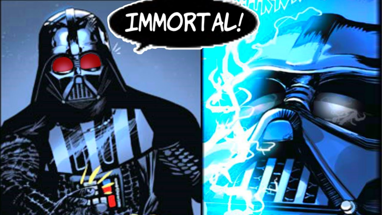 DARTH VADER LEARNS HOW TO BECOME IMMORTAL(CANON) - Star Wars Comics Explained