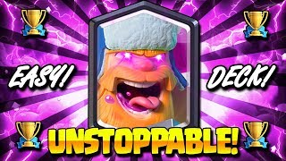 THIS UNSTOPPABLE BEATDOWN DECK IS BROKEN!! NO SKILL NEEDED!