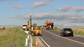 Смотреть видео Металлические дорожные ограждения барьерного